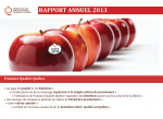 rapport annuel - 2013